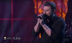 """Chris Young is celebrating his third week in a row at No. 1 the best way possible, by performing on """"The Ellen Show."""" Young's catchy smash hit """"I'm Comin' Over"""" has launched this talented singer-songwriter to the top of the charts, but his pure talent is what has kept him there.  Chris' fantastic performance on """"Ellen"""" further proves the sheer talent of this artist. It's always impressive when a performer sounds even better live than they do on the album."""