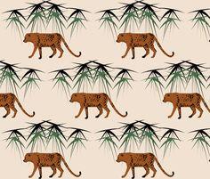 Viidakko fabric by mirjamauno on Spoonflower - custom fabric