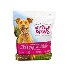 Whole Paws Salmon  Sweet Potato Maintenance Formula Dog Food 6 lb ** Details can be found by clicking on the image-affiliate link.
