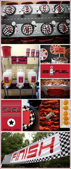 For the Boys: Race Car Themed Party | Occasions® - Weddings, Parties, Mitzvahs, Entertaining & All CelebrationsOccasions® – Weddings, Parties, Mitzvahs, Entertaining & All Celebrations