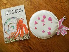 Like Mama ~ Like Daughter: An Enchanted Childhood Preschool ~ Hermit Crab #Craft - CUTE!