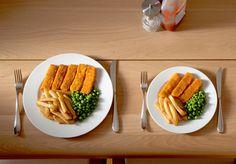 Az ételek érzékelése csaknem ugyanannyira fontos, mint az, hogy mit eszel. Egy kisebb tányéron vagy jól elrendezve nagyobbnak, így kiadósabbnak hatnak az adagok.