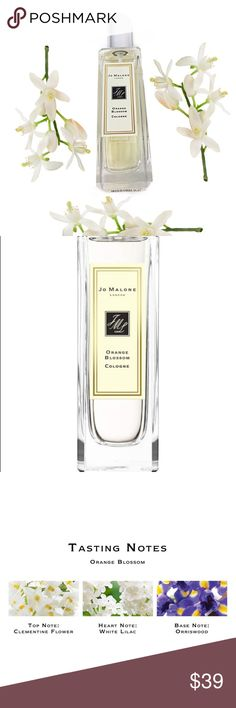 Best Seller: Jo Malone London ORANGE BLOSSOM 30ml Jo Malone Orange Blossom Cologne is a shimmering garden oasis. Clementine flower sparkles over a heart of orange blossom and water lily, with warm undertones of orris and balsamic vetiver. It's pure delight in a bottle. Jo Malone London Other