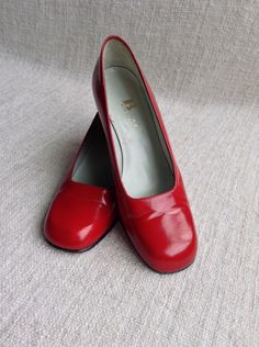 The iconic red leather pumps by Browns  by ENGARLAND on Etsy