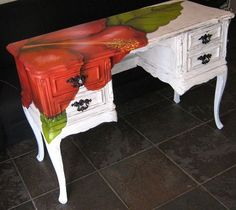 Love the Look! Cabinets, Chairs And Objects Refurbished Into Impressive And Artistic Pieces Of Furniture