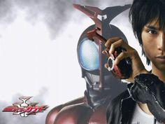 Kabuto and Tendou Souji Kamen Rider Kabuto, Cat Ears, In Ear Headphones, Hero, Draw, People, Anime, Painting, Over Ear Headphones