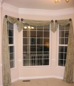 Custom roman shades in Lacefield Imperial Bisque fabric by the