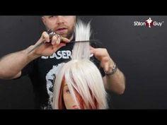 Side Bangs haircut or Sweeping Bangs-Fringe tutorial - YouTube