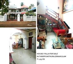 """""""Price is what you pay, Value is what you get."""" Residential Villas For Sale In Thrippunithura,Ernakulam price-1.25 Cr For more information please click on:-http://goo.gl/KwmpkY Buy/sell/rent Properties???....Log on to www.sichermove.com or call 9061681333/222/444.."""