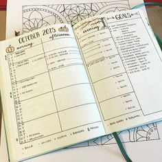 Planwithmechallenge day 2 my october setup ive already posted myhellip bullet journal inspo, goal journal Bullet Journal Inspo, Bullet Journal Agenda, Goal Journal, Journal Layout, Bullet Journals, Planner Journal, Journal Ideas, To Do Planner, Life Planner