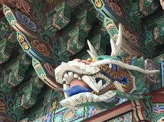South Korea ,Busan Haedong Yonggungda Tempel