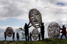 wire giant masks