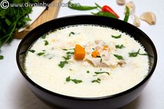 The original name of this recipe is Ciorba Radauteana (Radauti Soup). In addition to being very tasty, chicken soup has distinctive healing properties. Types Of Meat, Romanian Food, Chicken Soup, Cheeseburger Chowder, Poultry, Soup Recipes, Main Dishes, Tasty, Breakfast