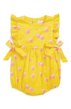 egg by susan lazar Cotton Bubble Romper (Baby Girls) available at #Nordstrom