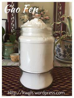 Cooked Glutinous Rice Flour aka Gao Fen (糕粉)#guaishushu #kenneth_goh    #糕粉  #gao_fen