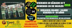 Campus semana Santa 2016 sportgalapagar