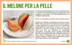 Il melone per la pelle