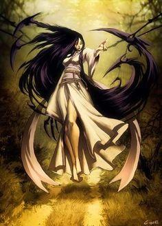 Harionago (Japanese) - Humanoid female with barbed, prehensile hair