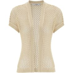 ❤Beige Mesh Cardigan ❤ liked on Polyvore featuring tops, cardigans, jackets, blouses, clothes / cardigans, brown tops, beige cardigan, mesh top, beige top and mesh cardigan