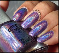 Color Club Eternal Beauty by Crazy Polishes - nail arts, swatches, reviews
