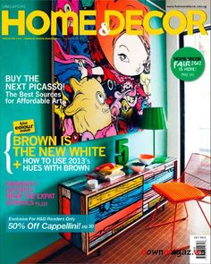 Home Decor Magazine October 2012
