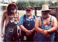 Funny Hillbilly: OK. The portly guy with no shirt is the closest I've seen to the kind of Goon I have in mind. But my Goons are eternal teenagers who never made it out of high school. In fact, they're trapped there. SO ... Still looking!!