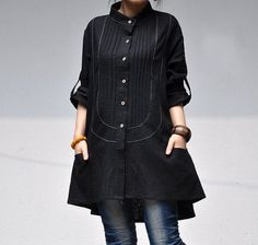 http://www.etsy.com/listing/94062585/linen-pleated-asymmetric-stand-up-collar