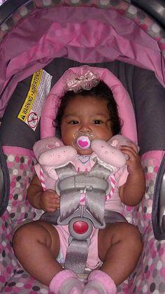 My baby - Baby Car Seats Newborn -Ideas of Baby Car Seats Newborn - My baby Cute Mixed Babies, Cute Black Babies, Black Baby Girls, Beautiful Black Babies, Cute Little Baby, Pretty Baby, Mix Baby Girl, Cute Baby Girl, Baby Girl Newborn