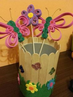 Planter Pots, Notebook, Easter, Traditional, Dolls, Crafts, Decor, Art, Spring