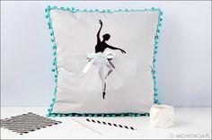 poduszka z baletnicą
