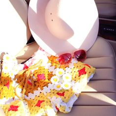 Roadtrippin' with your new favorite #NastyGal accessories and After Party Vintage Crochet shorts