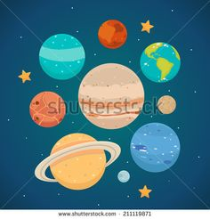 1000+ images about Space on Pinterest | Flat icons, Solar ...