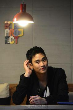 Kim Soo Hyun #김수현 Interview with HERALDCORP