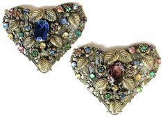 Antiques For Sale, Filigree, Vintage Jewelry, Bohemian, Brass, Stone, Detail, Ebay, Fashion