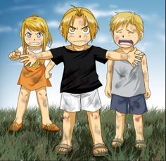 You made Al cry, you pissed Winry off, now Ed is gonna beat you to a pulp. FMA