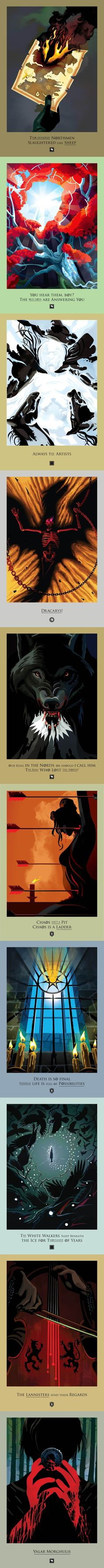 Beautiful deaths: Game of Thrones: Season 3 Chapters: 1-10 by Robert M. Ball.