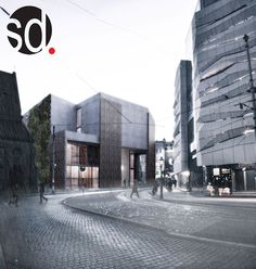student project in Poznań by Wojciech Szyp, via Behance