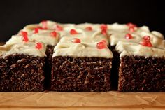 Joy the Baker – Orange Gingerbread with Cream Cheese Frosting