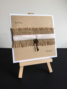 Meet 'Alicia' a side or top fold invitation with hessian, dating ribbon and lace detail with a beautiful key embellishment to match the wording. each or as a pocketfold Invitation Examples, Invitations, Hessian, Lace Detail, Color Schemes, Embellishments, Ribbon, Dating, Meet