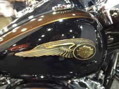 harley-davidson+emblems+and+decals | ... to See Full Size Image of the Anniversary Harley-Davidson Tank Emblem