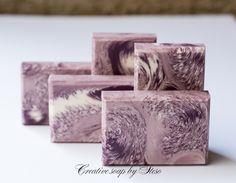 "Creative soap by Steso : Модификация двойного перелива ""Cosmic wave"""