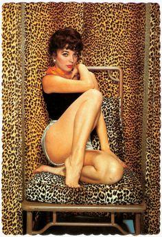 Joan Collins in the leopard room #animalier #leopard #beast - Carefully selected by GORGONIA www.gorgonia.it