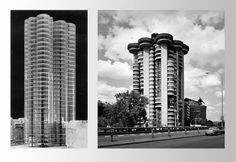 ArtChist: Torres Blancas in Madrid | Francisco Javier Sáenz de Oiza | White Towers | Le Corbusier + Frank Lloyd Wright influence