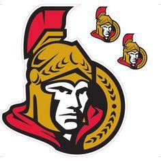Ottawa Senators Peel & Stick Logo Decal
