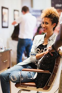 Making the Cut: Teen Vogue Editor Elaine Welteroth Chopped Off All Her Hair and We Have Pics