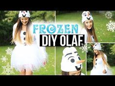 DIY Olaf Costume: Easy, Cute & Affordable | LaurDIY - YouTube