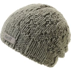 Neff Girls Mellow Grey Beanie Scarf Hat 3ac6327b6667