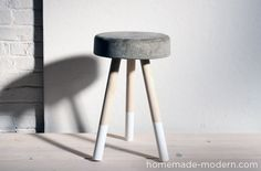 #DIY Cement Stool