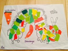 The very hungry caterpillar-craft.