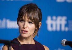 Actor Jennifer Garner listens during a press conference for 'Men, Women, and Children' at the 2014 Toronto International Film Festival in Toronto on Saturday, Sept. 6, 2014.   Photo by Hannah Yoon of The Canadian Press.